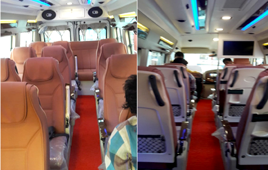 Hire in Delhi luxury tempo traveller for the outstation & cheapest price