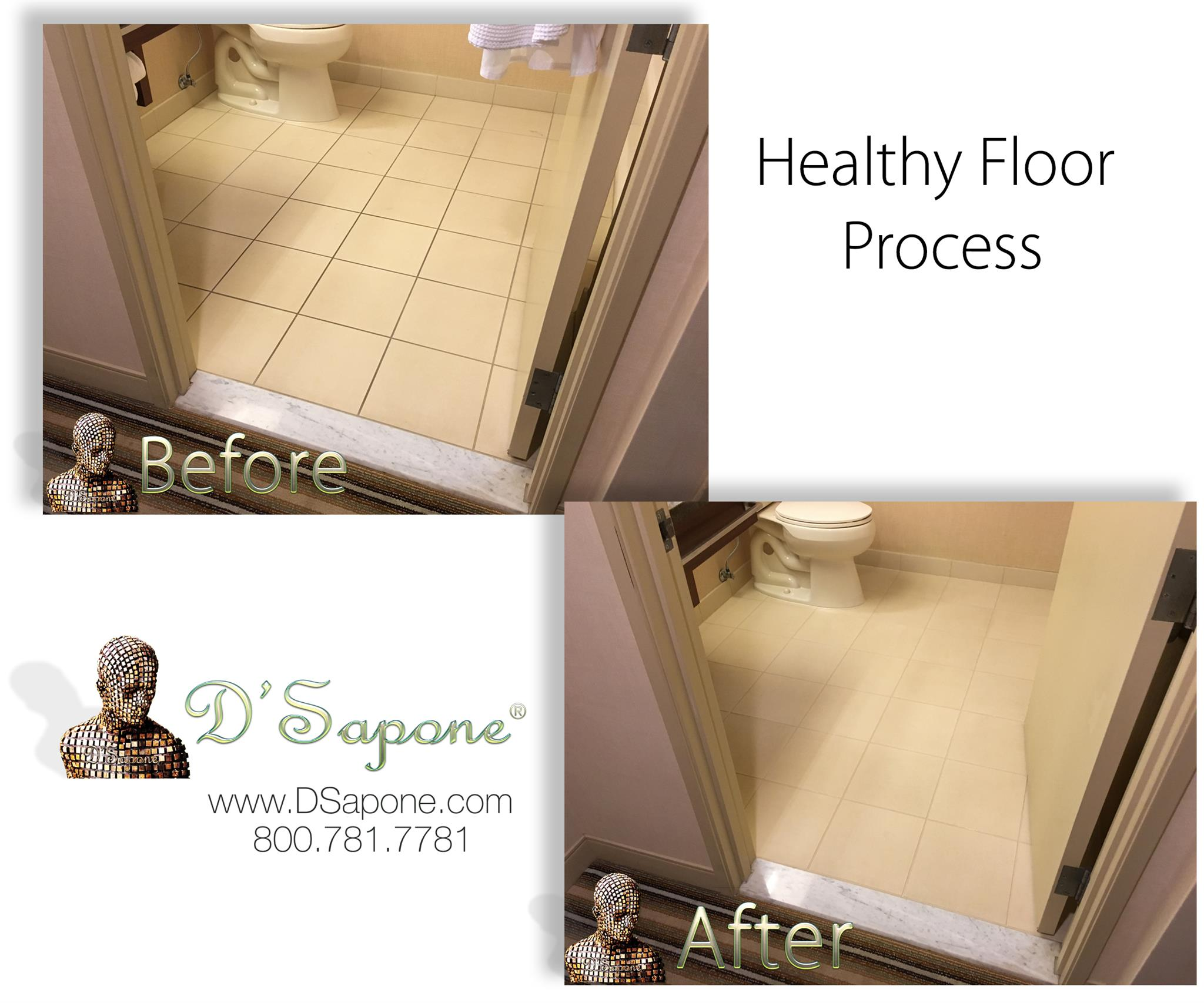 Tile and Grout Cleaning in California - San Diego | D'Sapone