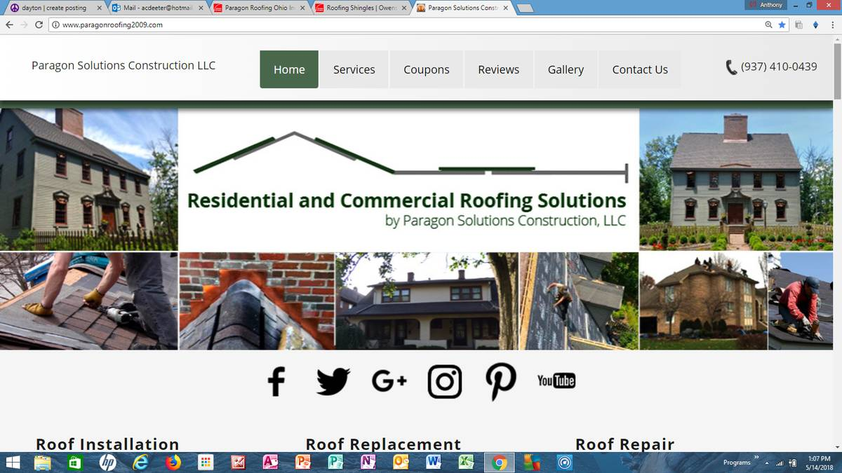 Paragon Roofing-Owens Corning Preferred Contractor Full Warranty