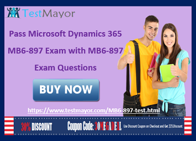 Microsoft Dynamics 365 MB6-897 Practice Test Questions Answers