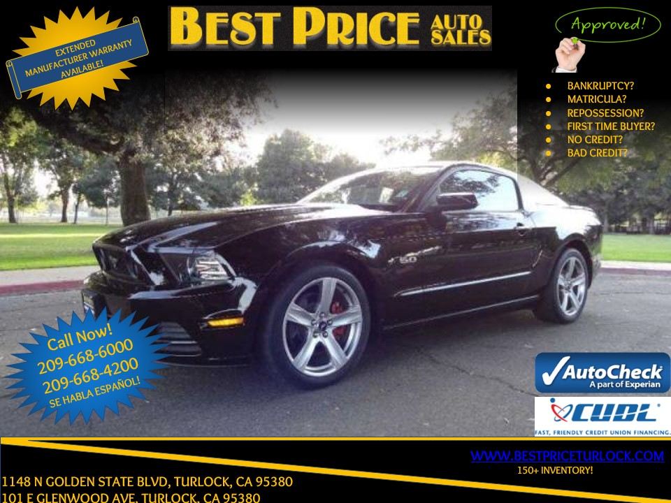 2013 Ford Mustang GT Turlock