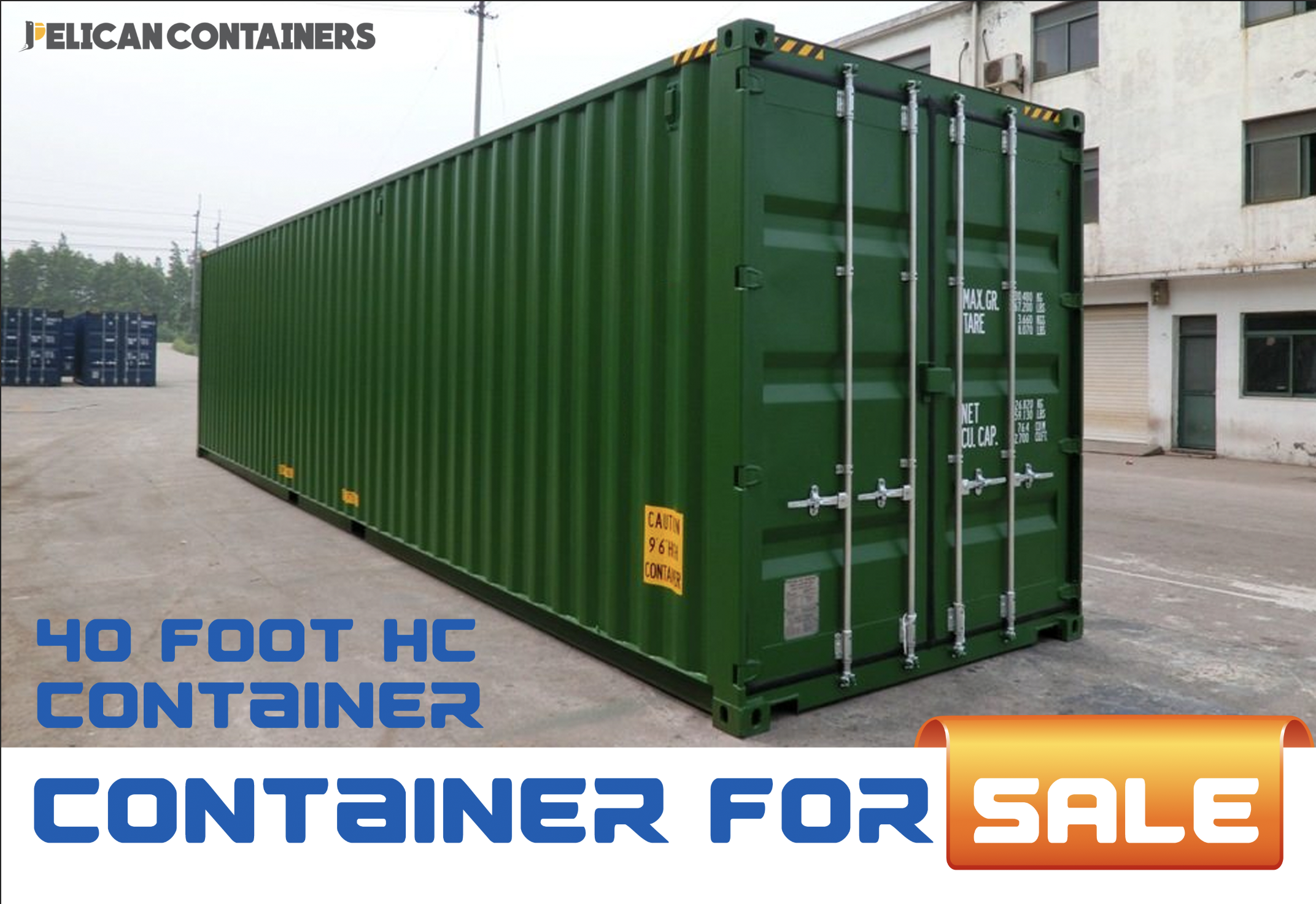 40' HC Used Shipping Container for Sale in Dallas, TX