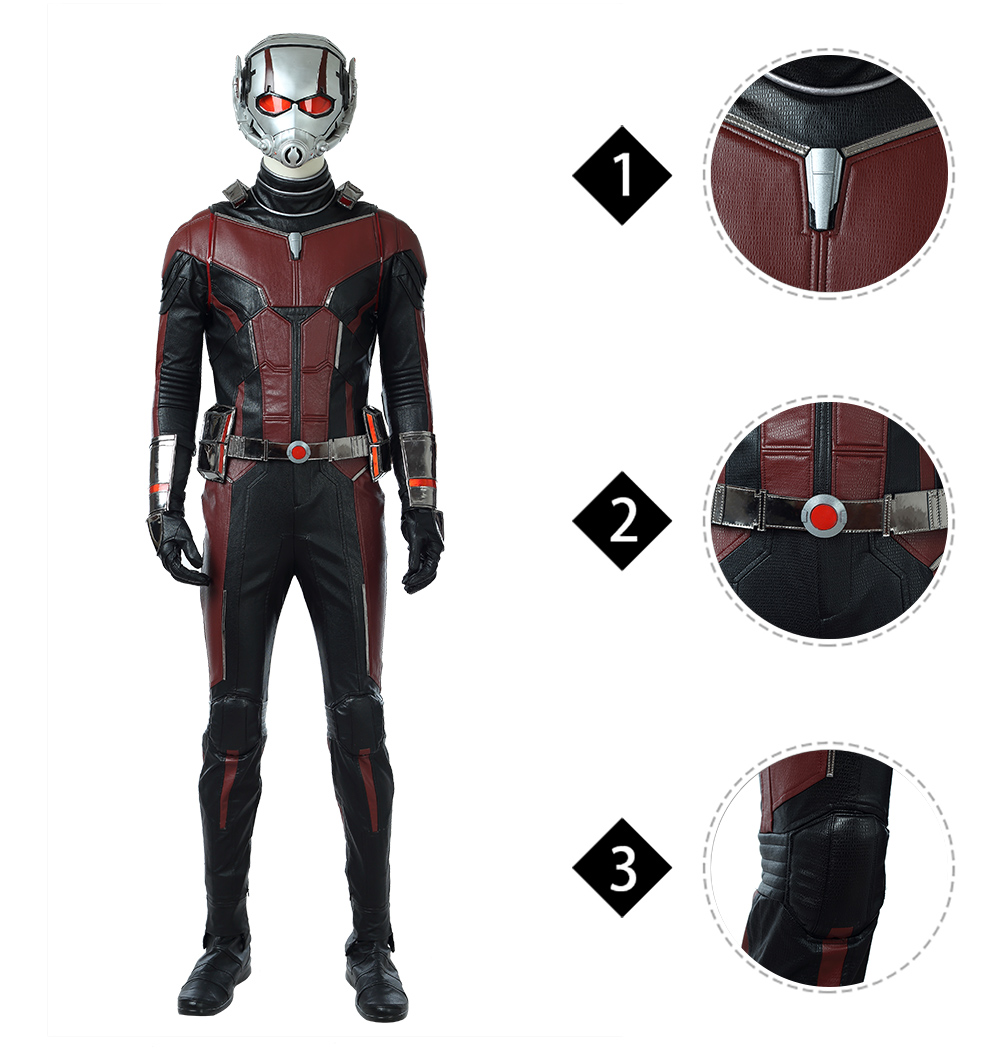 Ant man 2 Scott Lang high quality cosplay costume