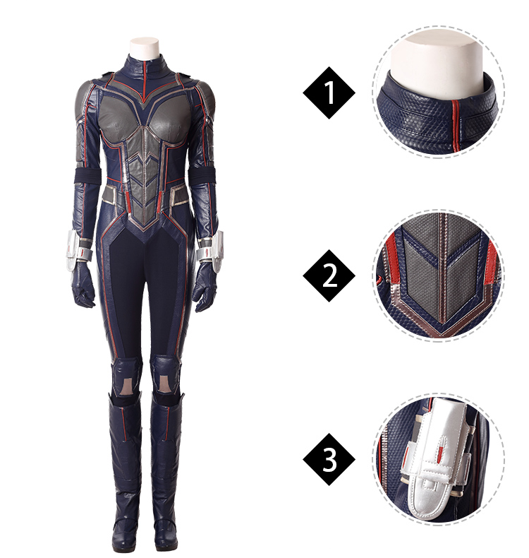 Antman and the Wasp Hope van Dyne outfits cosplay costume