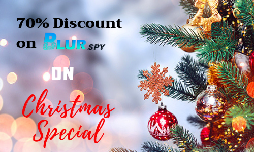 70% Off on this Christmas: BlurSPY Phone monitoring app