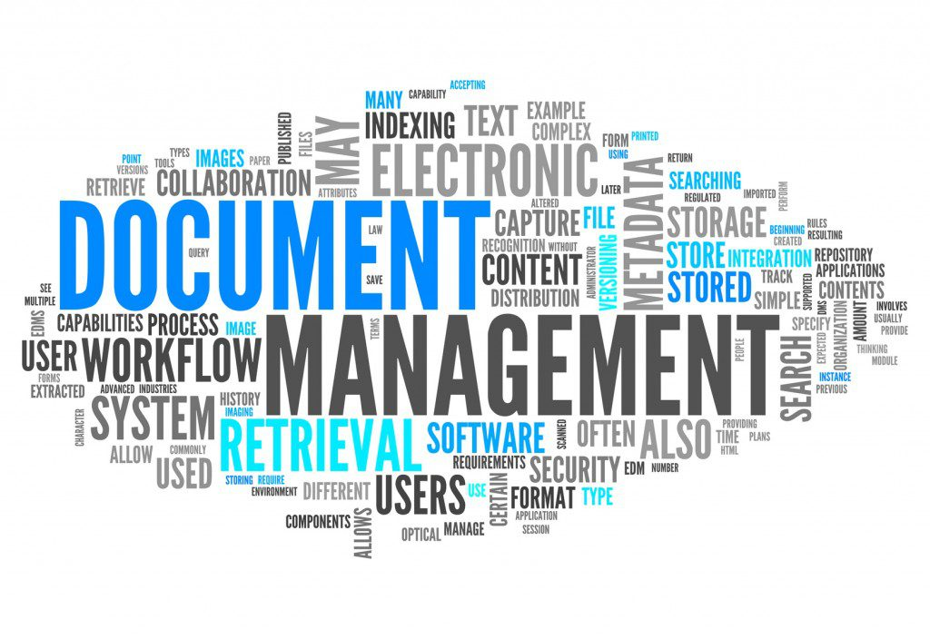 Document Management to Checking, Storing and Managing