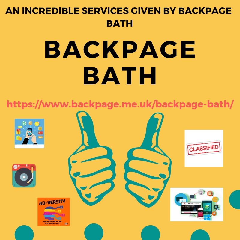 An incredible services given by Backpage Bath