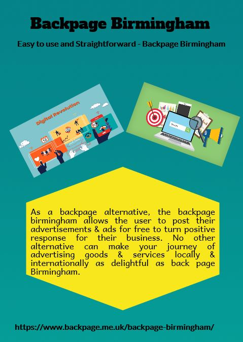 Easy to use  and Straightforward - Backpage Birmingham
