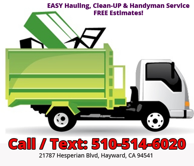 EASY Hauling, Clean-UP & Handyman Service ! FREE estimates