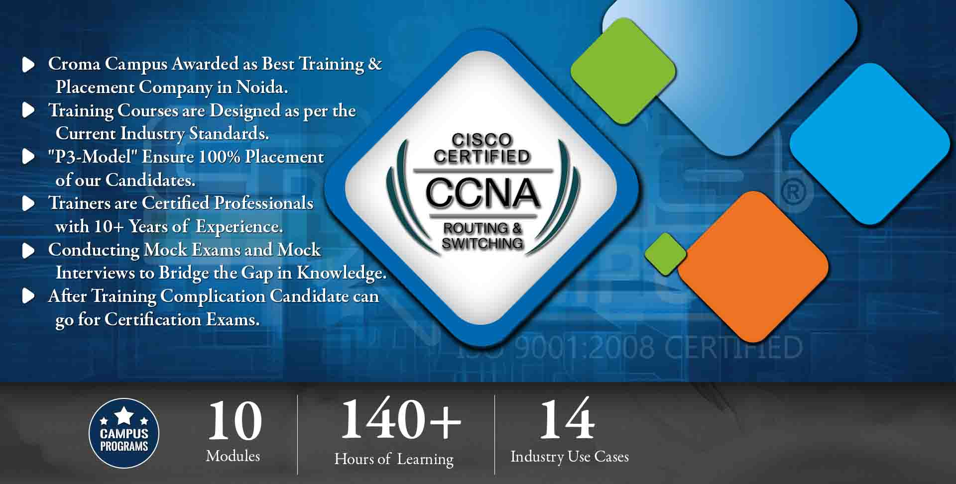 Is Delhi is good for CCNA Training