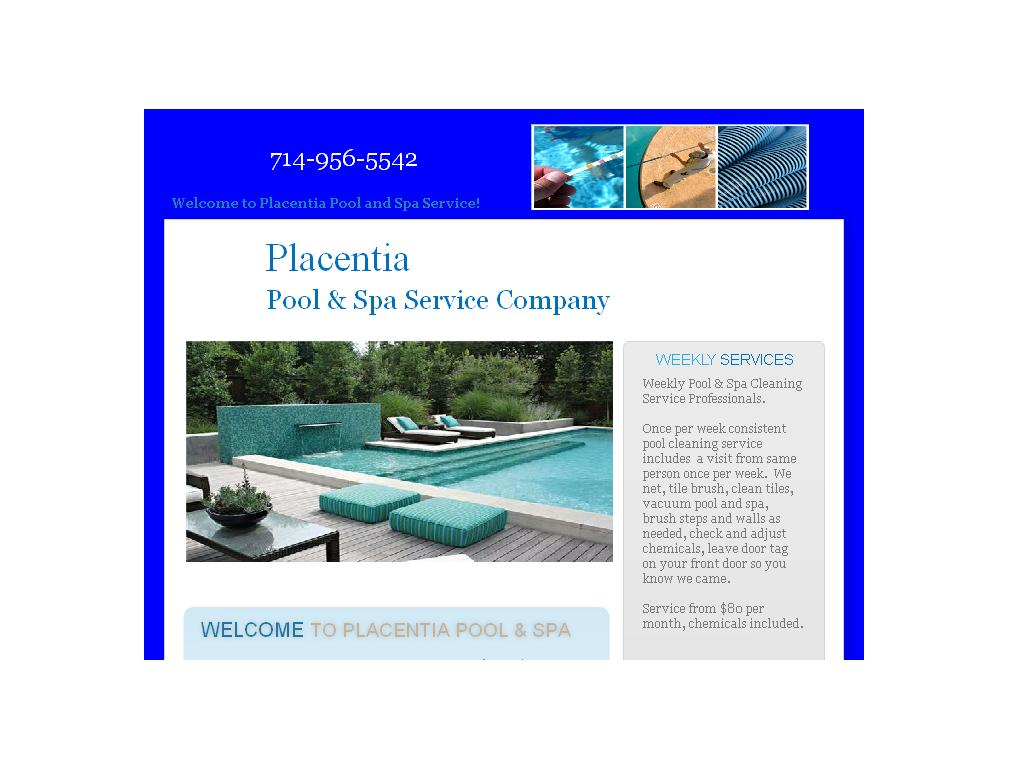 Placentia Pool and Spa Service