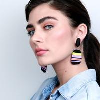 Shop Multicolor Bold Big Women's Earrings at Fair Price