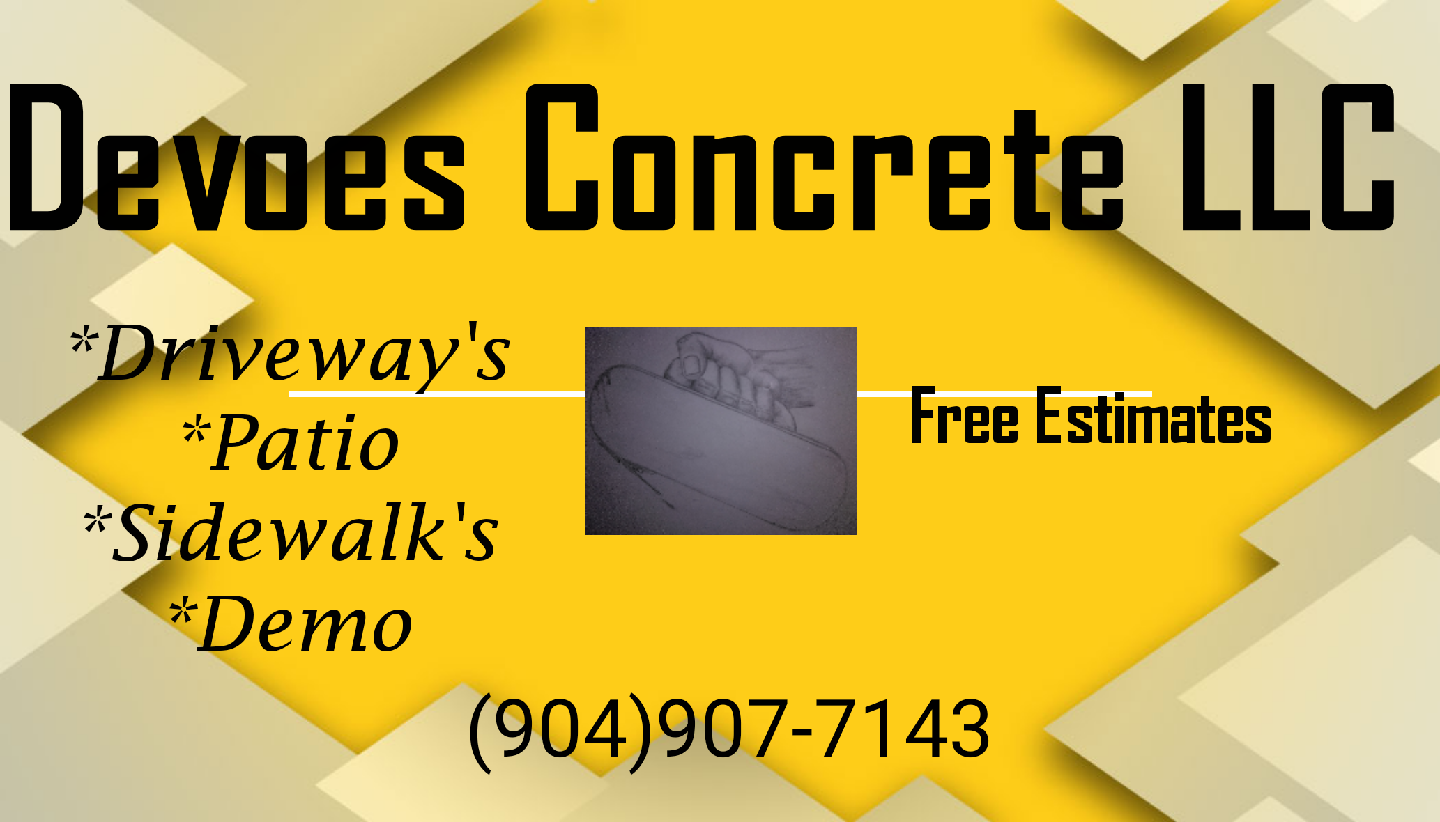 Concrete flat work