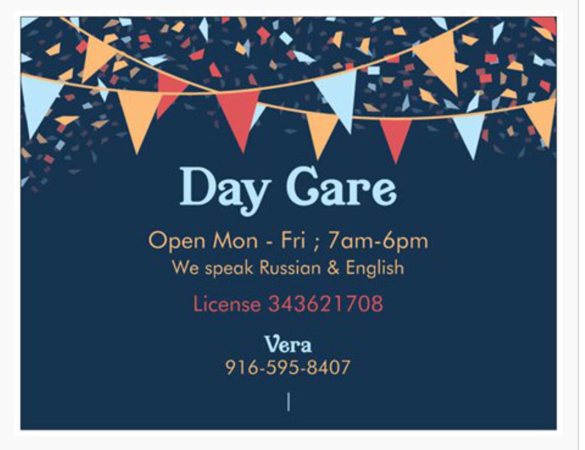 Natomas Day Care