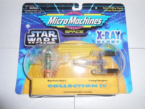 STAR WARS-MICRO MACHINES-COLLECTION IV-X-RAY FLEET