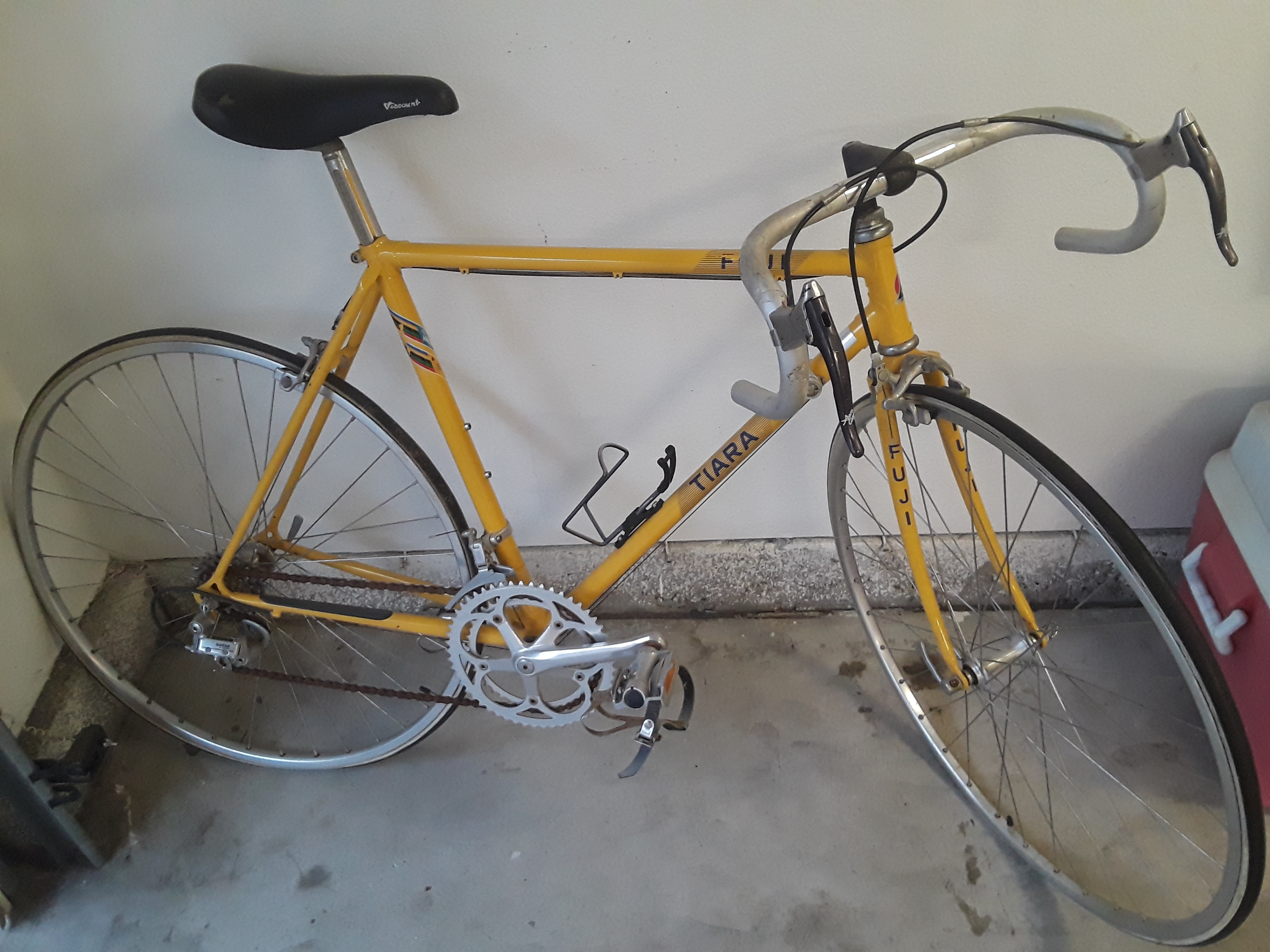 """SUPER RARE"" 1987 Fuji Tiara 12 Speed Racing Bicycle"