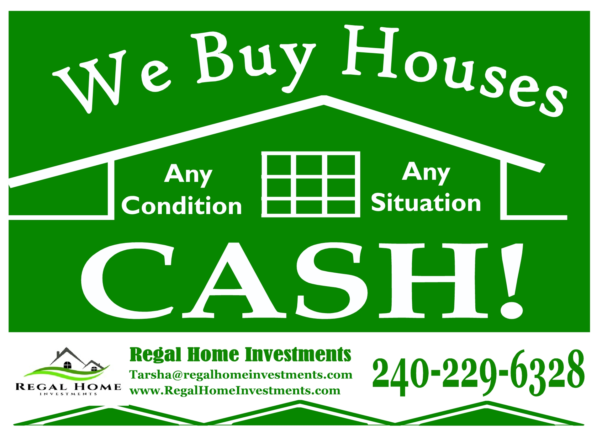We Buy Homes in DC, MD and VA! Any condition! Any Situation!