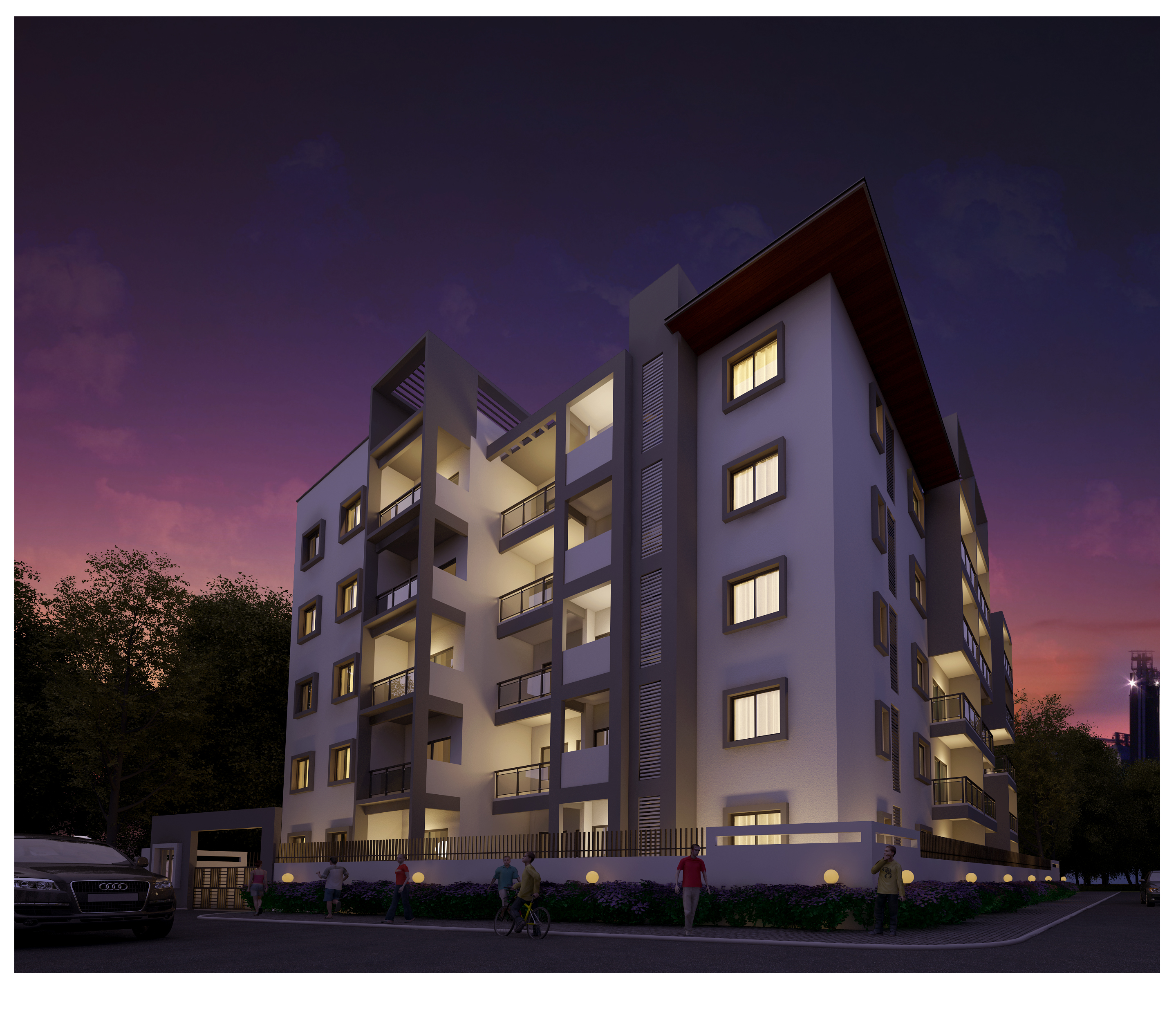 2BHK Flats For SALE Near HBR Layout Bangalore