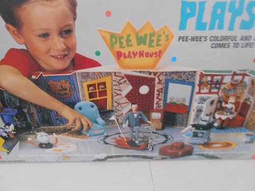 MATCHBOX PEE-WEE'S PLAYHOUSE PLAYSET PEE-WEE HERMAN