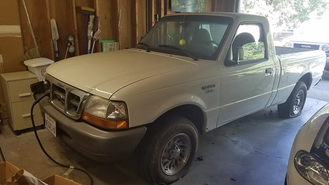 RARE Garage Find - 1998 Ford Ranger EV