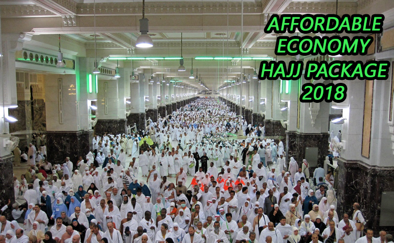 Economy Hajj Package from USA 2018 $5500
