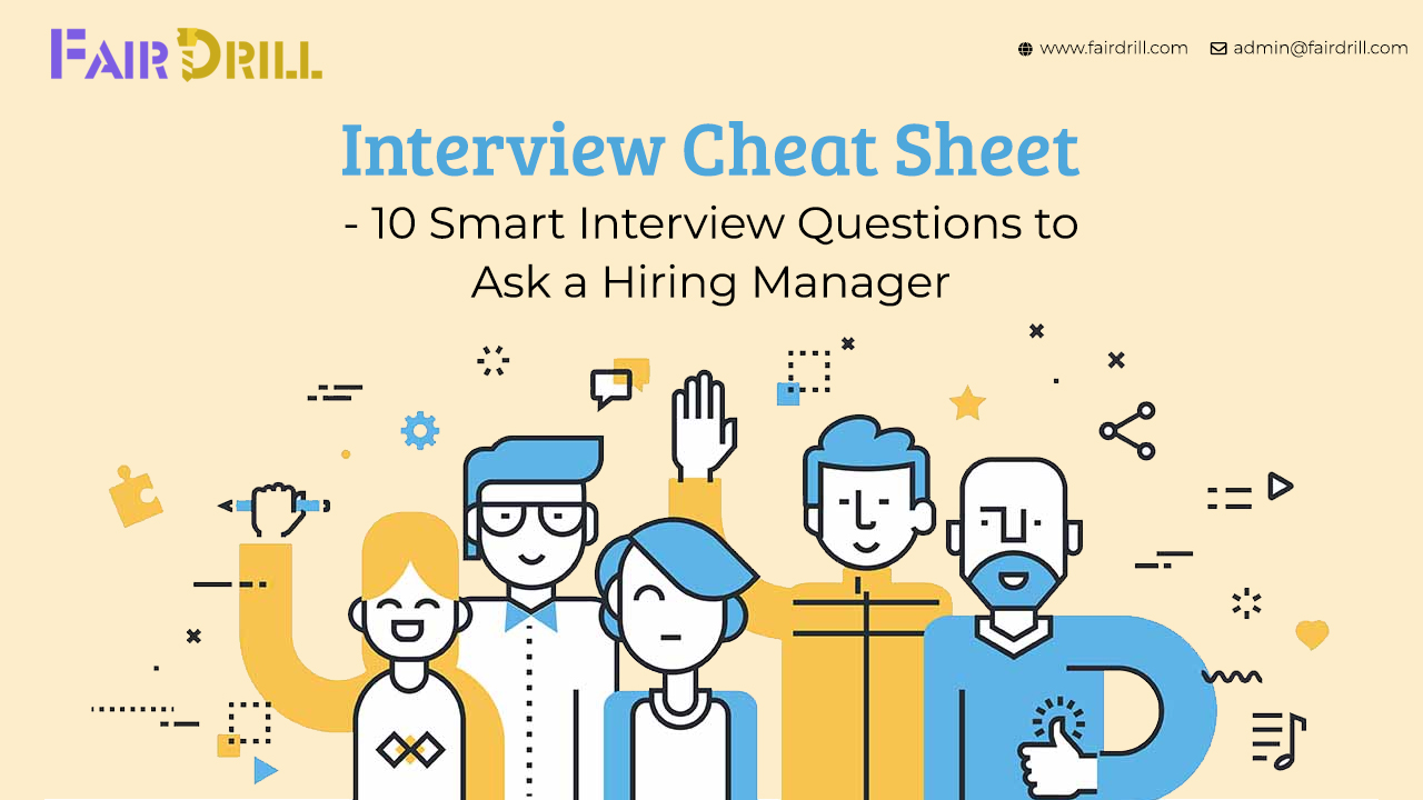 Interview Cheat Sheet - 10 Smart Interview Questions to Ask a Hiring Manager