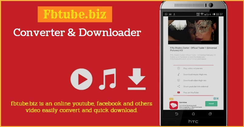 Download & Convert Facebook and YouTube videos to MP4