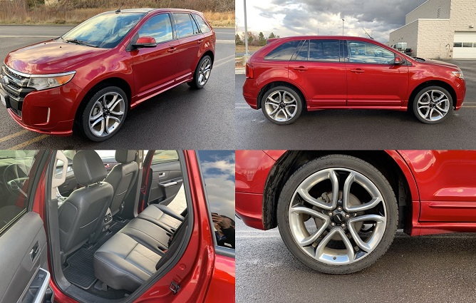 2013 Ford Edge Limited-Leather, LOW miles, NAV, Camera, Bluetooth!