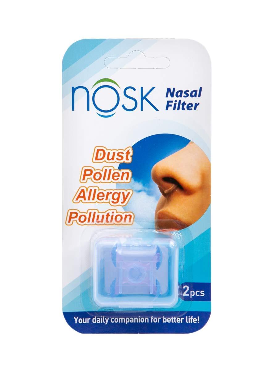NOSK Nasal Filter 2 Pack (Medium)