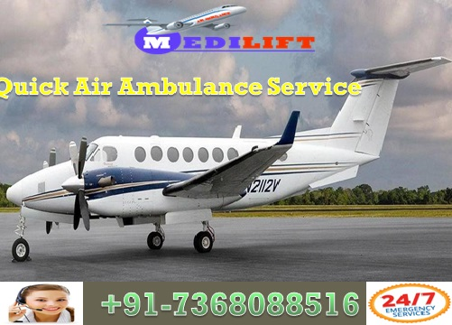Trusted Air Ambulance Service in Port Blair with Expert Doctor