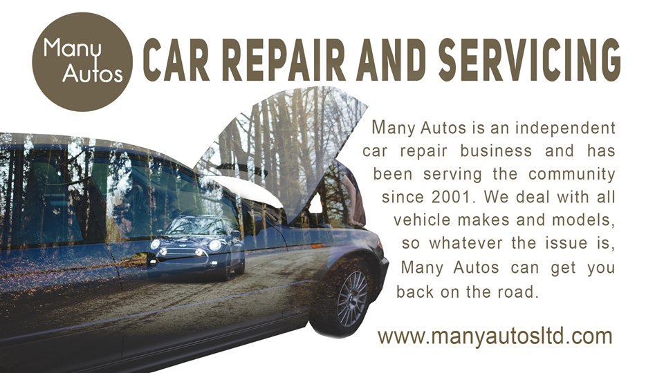 Car repair, servicing and MOT at Many Autos