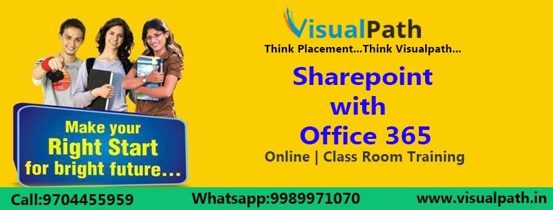 SharePoint Online Training | SharePoint Training in Hyderabad