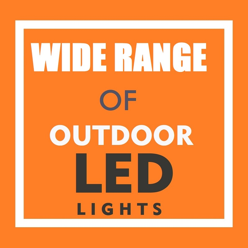 LED Flood Light 30 Watt 5700K Black Finish ($29.45)