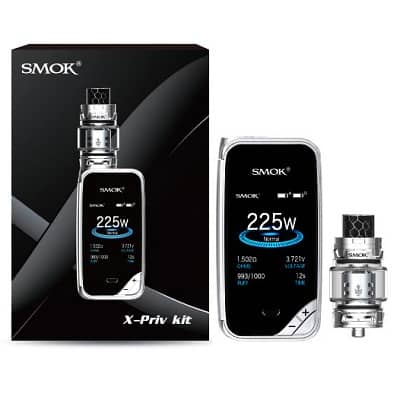 SMOK X-PRIV 225W TC Mod Kit - $57.99 with TFV12 Prince Tank IN STOCK! – Vape Density