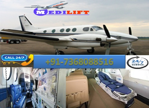 Get Hassle-Free Medilift Air Ambulance Service in Patna