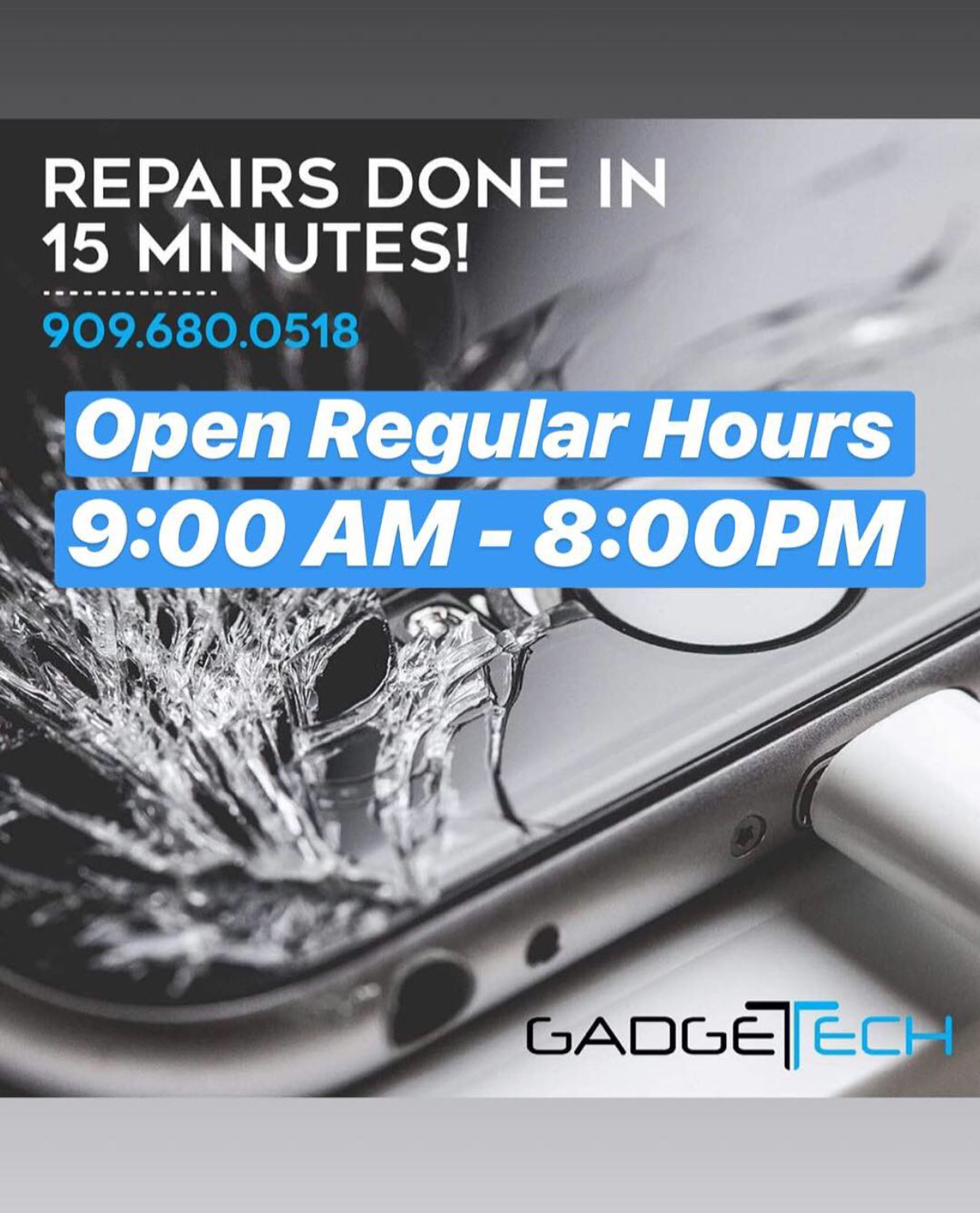 iPhone, Samsung, &Tablet Repair