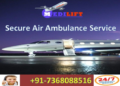 Get Trusted Aircraft Air Ambulance Service in Kolkata with Doctor