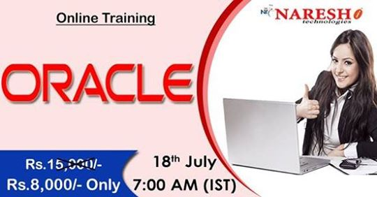 Oracle Online Training - NareshIT