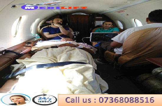 Hire the World's Best Charter Air Ambulance Service in Patna