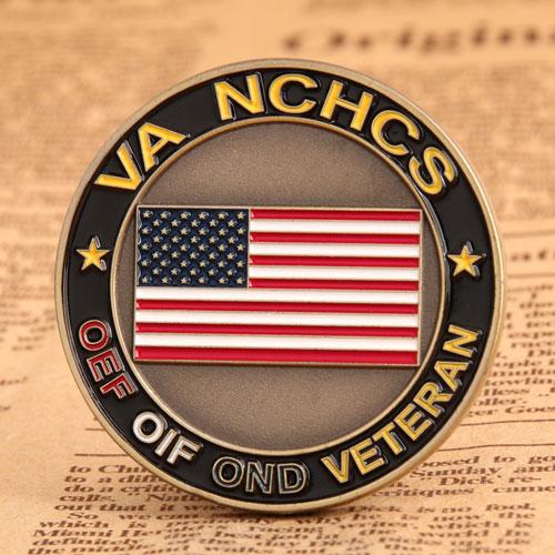 VA NCHCS Veteran Challenge Coins