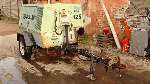 1994 SULLAIR 125 DPQ AIR COMPRESSOR
