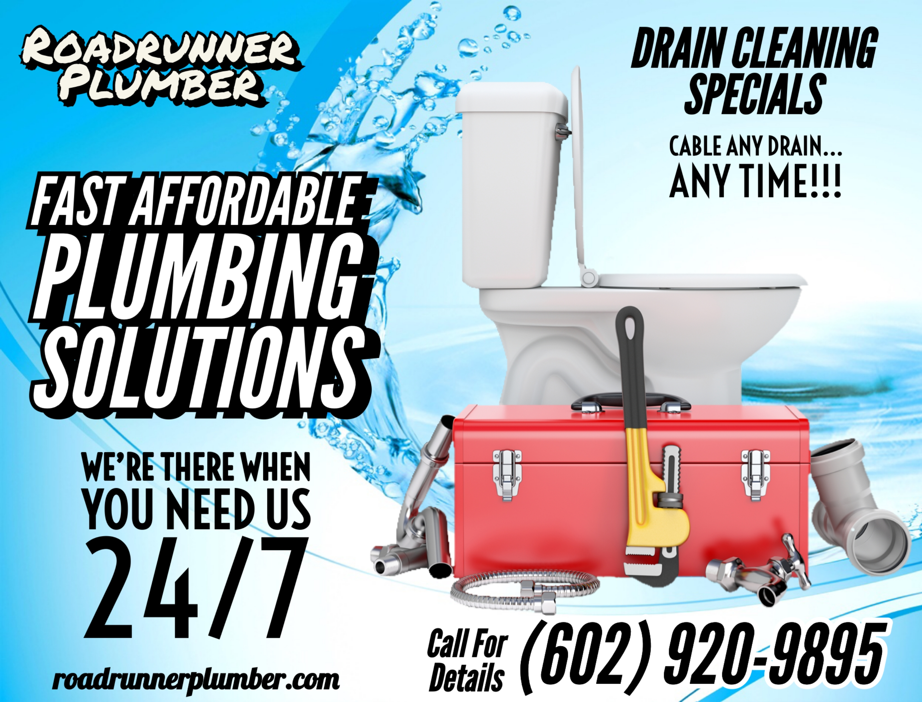 ◄ Affordable Plumbing ► Drain Cleaning Service ►Phoenix Plumber