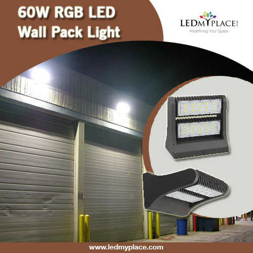 Wall pack lighting fixtures ideally suited for both interior as well as exterior spaces