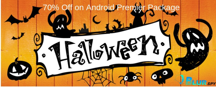 70% Discount on BlurSpy Monitoring App - Halloween Special.