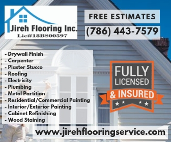 MIAMI, FL:.HOME REMODELING SERVICE, FLOORING, ROOFING, PLUMBING & MORE