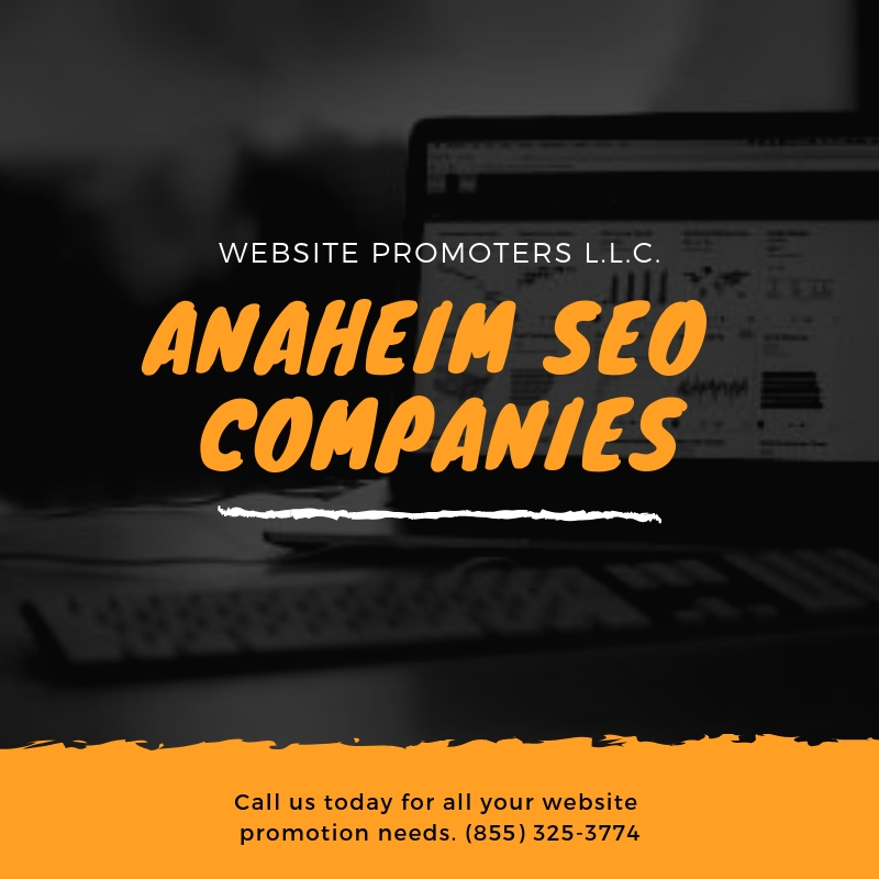 Anaheim SEO Companies - websitepromoters.com