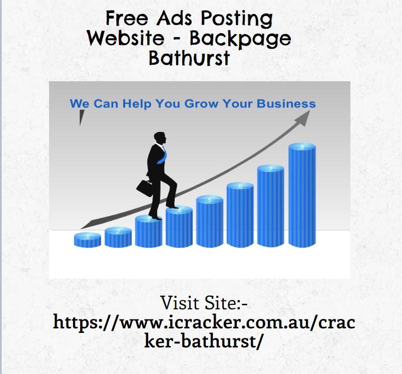 Free Ads Posting Website - Backpage Bathurst
