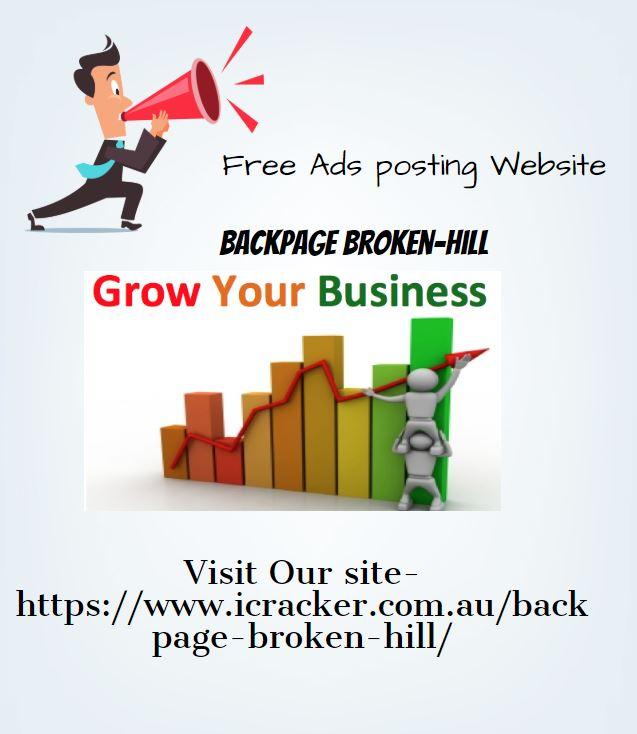 Best Ads Posting website - Backpage Broken-Hill
