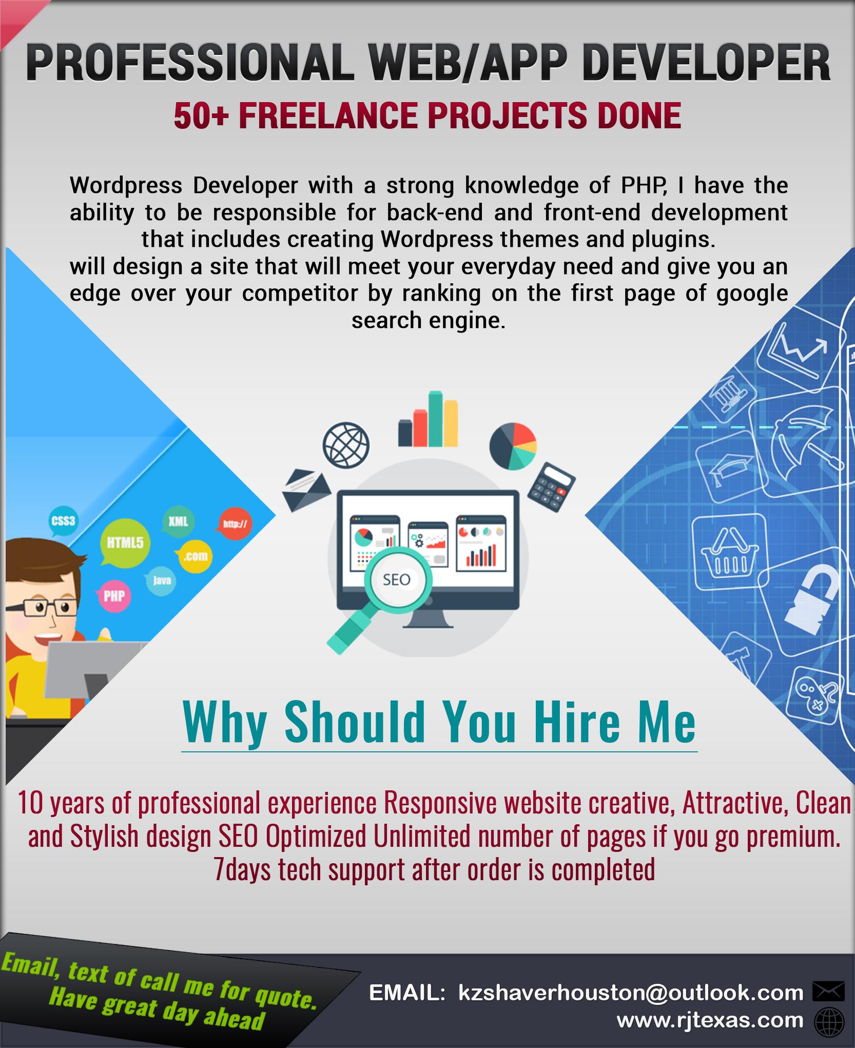 Web Developer & Web Marketing Expert-