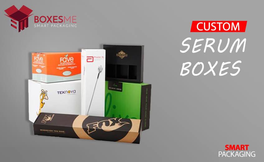 Unique Idea's of Printed Custom Serum Boxes